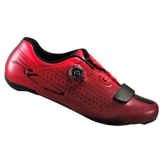Scarpe Road Shimano RC7 Rosso
