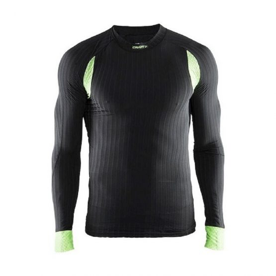 Craft BE ACTIVE EXTREME 2.0 manica lunga Intimo invernale nero verde