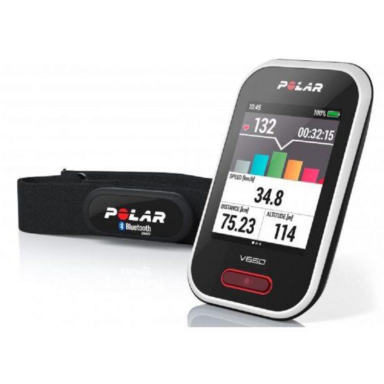 POLAR V650 Ciclocomputer Cardiofrequenzimetro GPS