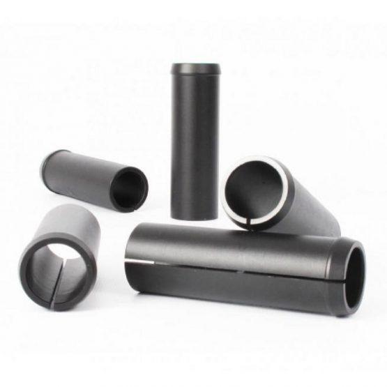 Adattatore reggisella KS: adattatore in alluminio per reggisella stabdard e in alluminio. Compatibilità tubo reggisella