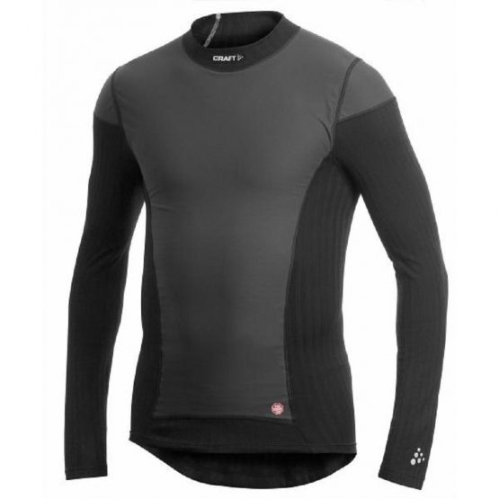 Craft BE ACTIVE EXTREME 2.0 Windstopper Intimo invernale nero