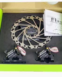 Juin-Tech F1 (Freni a disco idraulici, colore nero)