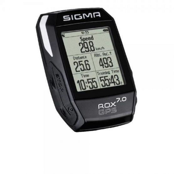 Ciclocomputer GPS SIGMA ROX 7.0 black
