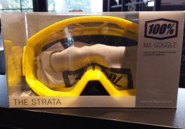 Maschera RIDE100% STRATA SUNNY DAYS (Clear Lens)