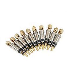 Meccanismo ricambio valvole presta/tubeless (10 pezzi)