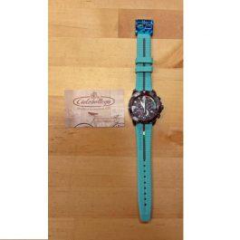 Bianchi Orologio cronografo da polso (Celeste)