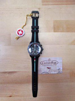 Bianchi Orologio cronografo da polso (nero)