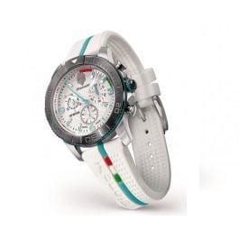 Bianchi Orologio cronografo da polso (bianco)