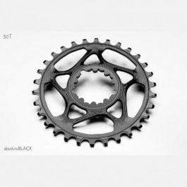 Corona ABSOLUTE BLACK per SRAM GXP/BB30 Nero