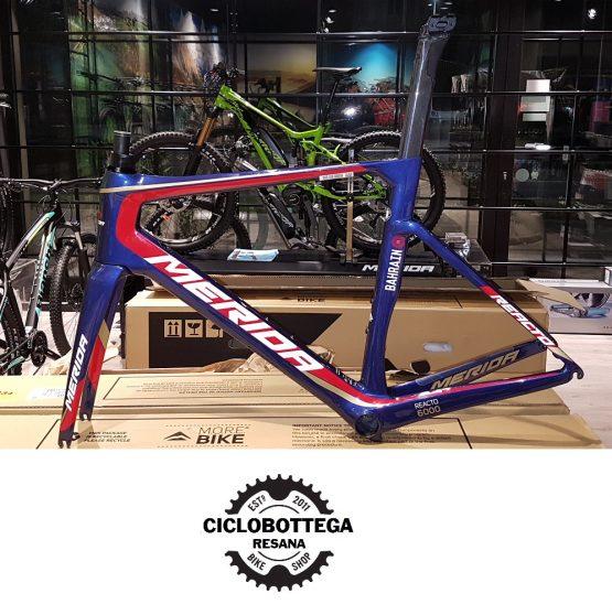 Merida Reacto CF4 - 2018 Frameset Team Bahrain - Ciclobottega Bikeshop
