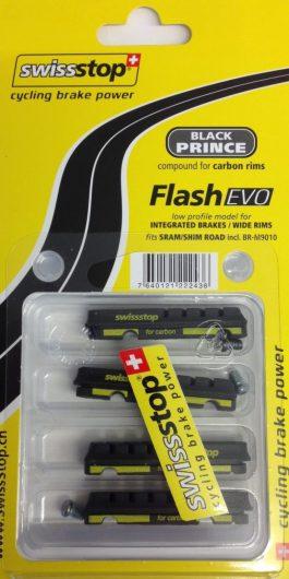 Swissstop Flash Evo BLACK PRINCE Pattini freno HG/Sram (4pz)