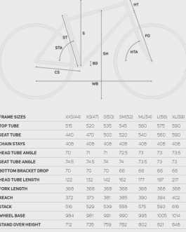 Merida Reacto 7000 Disc R8020 (Size SM) Roadbike