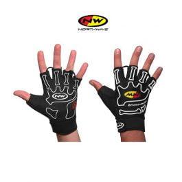 Northwave Skeleton Short gloves (black white)