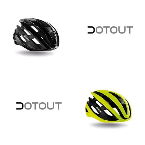 Road bike helmet for man Kabrio Dotout