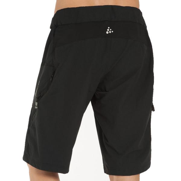 Cycling Pantaloncino Free Ride C/boxer Fondello Staccabile Blk/red Sporting Goods
