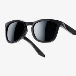 100% Hudson occhiali da sole sportivi Soft Tact Black – Smoke Lens