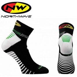 Northwave Speed Calzini Estivi ciclismo – Nero Bianco