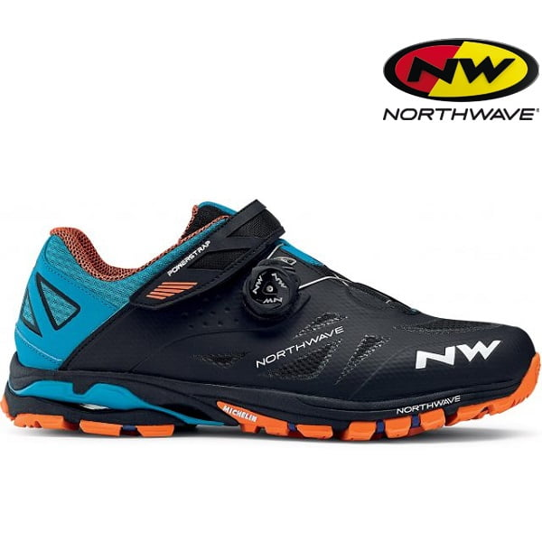 823aa929326 Chaussures de VTT Northwave SPIDER PLUS 2 (orange noir)