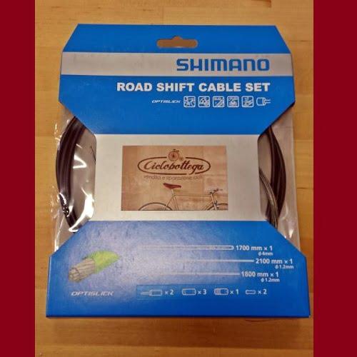 Shimano OPTISLICK Kit guaine e cavi per deragliatori