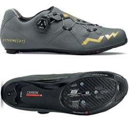Northwave EXTREME GT Roadbike Shoes  (Anthracite – Gold)