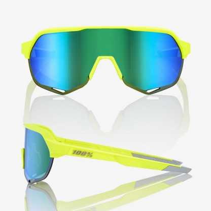 S2 - Matte Fluorescent Yellow - Green Multilayer Mirror