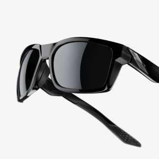 Occhiali DAZE - Polished Black - Grey PeakPolar