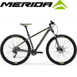 Merida BigNine 300 Mountain bike – Silk anthracite (black/green)