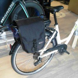 Boninbike Borsa tasche laterali per portapacchi Nera