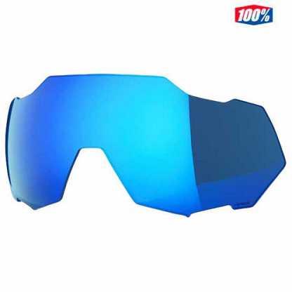 Lenti di Ricambio per Occhiali Speedtrap 100% Hiper Blue Multylayer Mirror