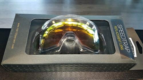 Lenti di Ricambio per Occhiali Speedtrap 100% Hiper Red Multylayer Mirror