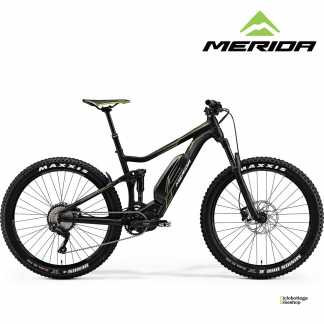 e-bike Merida eONE-TWENTY 500 matt black (green) Full Suspension
