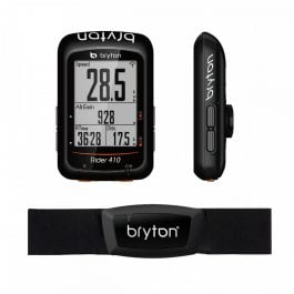 Bryton RIDER 410H Ciclocomputer GPS with Heart Rate Monitor