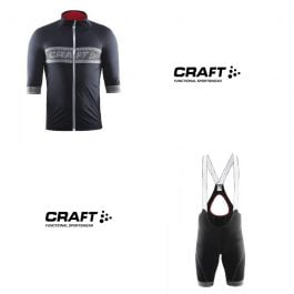 Craft Shield Set WINTER JERSEY and Bibshort Winter