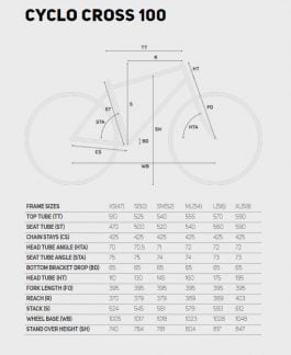 Merida CYCLO CROSS 100 – Sram Apex 1×11