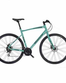 Bianchi C-SPORT 2.5 Bicicletta ibrida (celeste, taglia 55) 2019