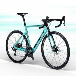 Bianchi ARIA E-ROAD Bike Full Carbon Ultegra Di2 – Celeste CK16 Taglia 55