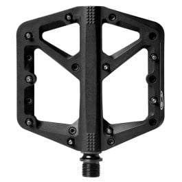 CrankBrothers Coppia Pedali Flat Stamp 1 Small – Black