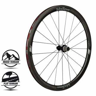 Vision Trimax Carbon 40 Set Ruote Strada