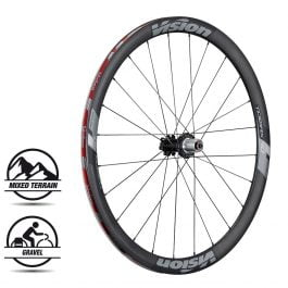 Vision Trimax Carbon 40 Disc Set Ruote Strada – 2019