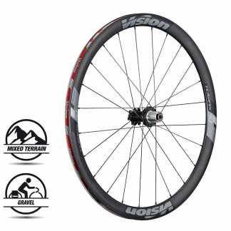 Vision Trimax Carbon 40 Disc Set Ruote Strada