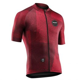 Northwave Abstract Jersey maglia manica corta uomo – Rust Red