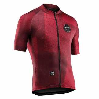 Northwave Abstract Jersey maglia manica corta uomo - Rust Red