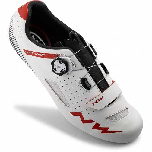 Scarpe Northwave Core Plus Road - White Red