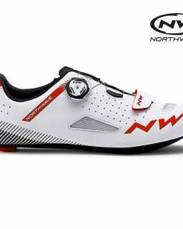 Northwave Core Plus Shoes Road – White Red