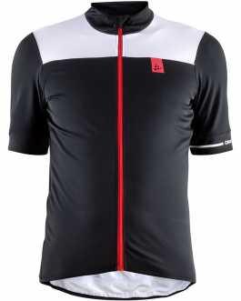 Craft Point Jersey jersey men short sleeve black – white