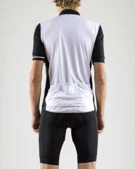 Maglia Ciclismo Estivo manica corta Craft Point Jersey – Bianco Nera