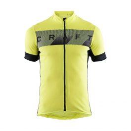 Maglia Ciclismo Estivo Craft Manica Corta Reel Jersey M lime-black