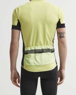 Craft Reel Jersey M short sleeves –  lime-black