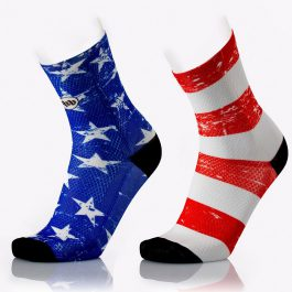 MbWear FUN AMERICAN Cycling Socks