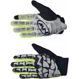 Northwave Skeleton Original Guanti Black – Yellow Fluo